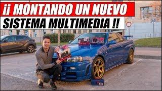 ¡¡ MONTANDO UN NUEVO SISTEMA DE AUDIO EN MI NISSAN SKYLINE GTR R34 !! | Supercars of Mike