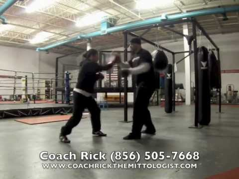 Coach Rick: Women's Boxing Training Chica Mayweather Sr. Style Focus Mitt Workout Via GoPro Hero3 Image 1