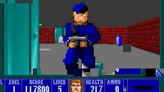 Wolfenstein 3D Episode 1, Floor 1 (1/2)