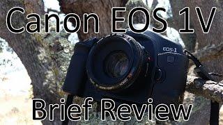 Canon EOS 1V Brief Review