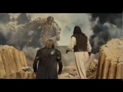 Wrath of the titans Kronos fight - Zeus and hades fight together