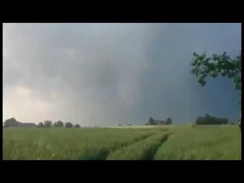 Trąba Powietrzna W Powiecie Kraśnickim I Lubelskim [Tornado]