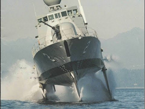 The Fastest Ship in the US Navy: Boeing Pegasus-Class Hydrofoils (720p)