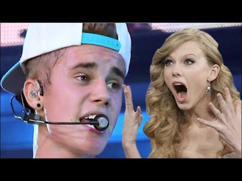 Justin Bieber Disses Taylor Swift In New Single All Bad?!