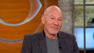 Actor Patrick Stewart on new role as TV journalist in