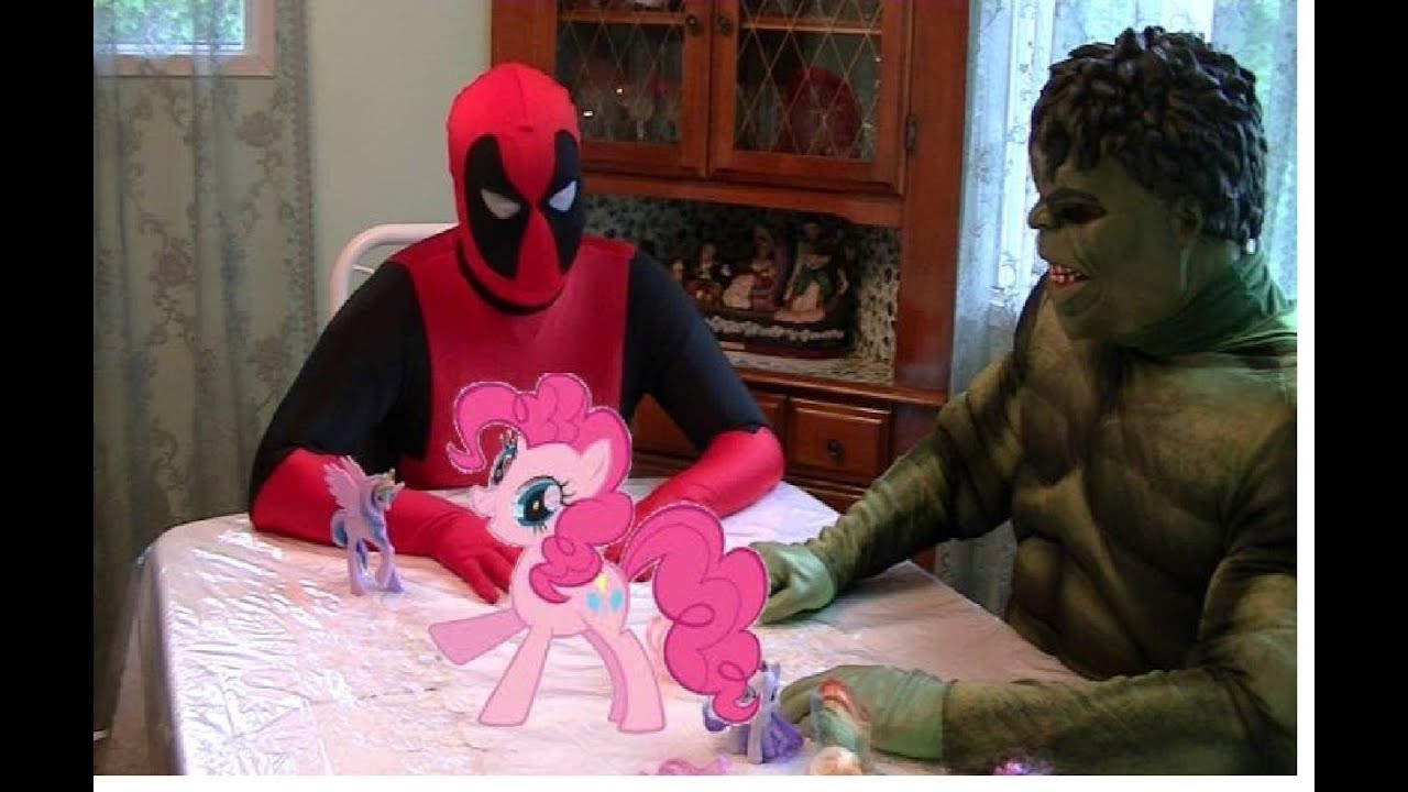 my Little Pony vs Spiderman Love my Little Pony