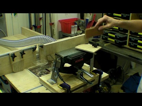 Mini Power Planer Stand / Jointer / Thicknesser - Hand Tool Conversion