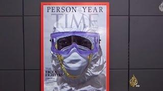 مجلة تايم تمنح لقب شخصية العام لمكافحي إيبولا