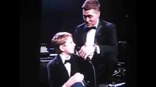 Michael Buble Video - Kid On Stage With Michael Buble at Nashville, TN