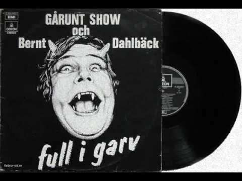 Bernt Dahlbäck & Gårunt Show – Syster Jane