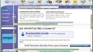 how to download cricket game on your pc for free