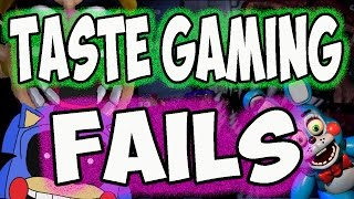 TASTE FAILS COMPILATION - WRONG MOVES AND BAD DECISIONS ( FNAF | NIGHTBLIGHTS | WARIO