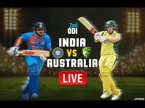 India vs Australia 2nd ODI Live Cricket Score, Ind vs Aus Liv Live Scores & Commentary   2019 Series