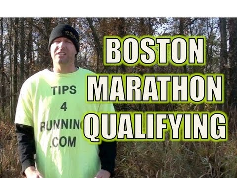 Boston Marathon Qualifying Times 2014
