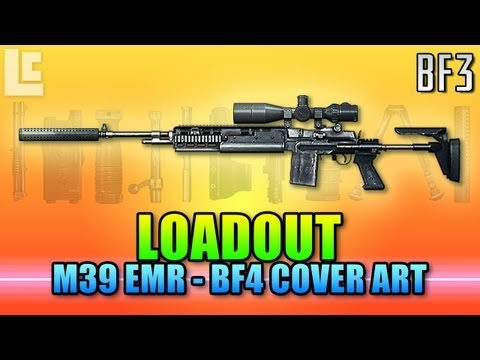 Loadout - M39 EMR BF4 Poster Style (Battlefield 3 Gameplay/Commentary)