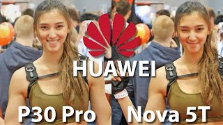 Huawei Nova 5T vs Huawei P30 Pro Camera Comparison Review at Vienna Comic Con 2019!