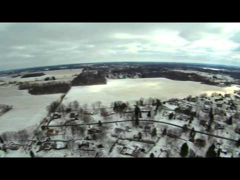 Winter storm Jonas 2016 near Columbus, Ohio