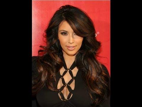 Random Reviews Kim Kardashian Has Copper Highlights
