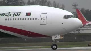 Biman Bangladesh Airlines Boeing 777-300ER  Delivery Flight