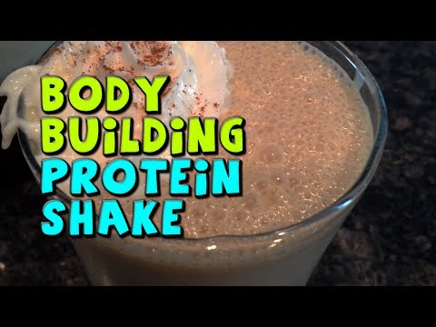 Bodybuilding PROTEIN Shake Recipe (High Protein)