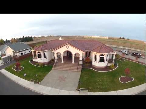 QUICK AERIAL VIDEO of: 1855 E. Catalpa, Othello, WA - $415,000 Brian Gentry 509-488-1111