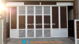 Side Folding Garage Door Bangalore India