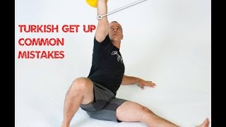 Kettlebell Turkish Getup Common Mistakes