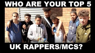 Who Are The Top 5 UK Rappers/MCs? - The YGs | Grime Report Tv