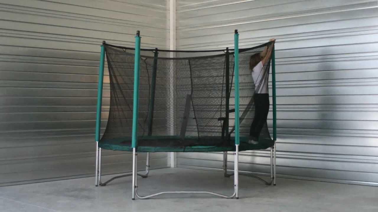 Comment monter une housse de propret sur un trampoline france trampoline - Comment monter un grillage de cloture ...