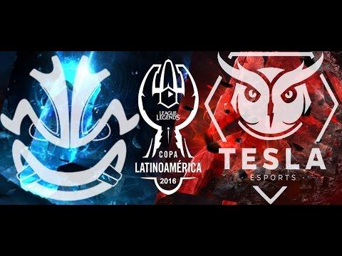 Revenge eSports Vs Tesla E-Sports Match 1 Copa Latam