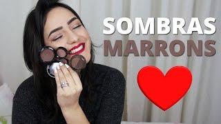 MINHAS SOMBRAS MARRONS PREFERIDAS