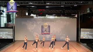 Чемпионат и первенство Европы по фитнес аэробике . Команда Фортуна Лайт. 11-13 Гранде