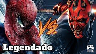SPIDER-MAN vs DARTH MAUL LEGENDADO - Super Power Beat Down (Episodio 17)