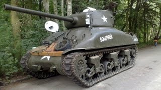 "SHERMAN M4A1 ""SQUIRREL"" IN THE CITY !!!  D-DAY HEL 2013 BY PANZER FARM.pl"