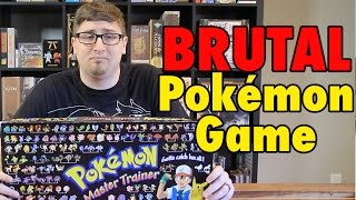 The BRUTAL Pokemon Board Game - Master Trainer