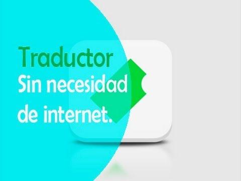 Traductor sin necesidad internet | Biscuit |iPod|iPad|iPhone|