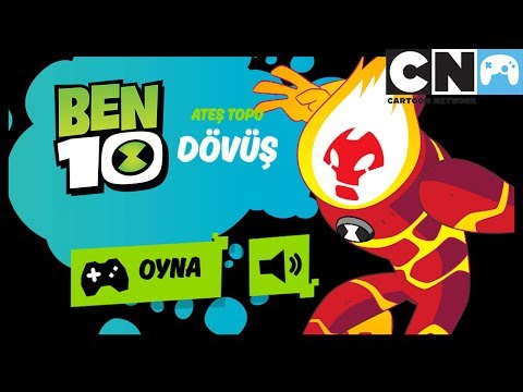 BEN 10 OYUNU - ATEŞ TOPU DÖVÜŞ | Ben 10 Türkçe | Cartoon Network