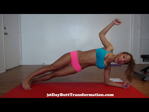 Girls Sexy Six-Pack Ab Workout from Home!