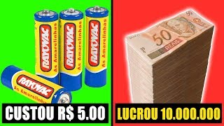 7 COMERCIAIS BARATOS QUE LUCRARAM MUITO!