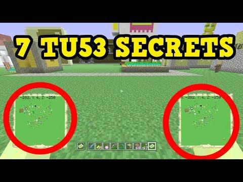Minecraft TU53 Update - 7 SECRET FEATURES (Xbox One)