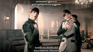 BTOB (비투비) - Secret (Insane) MV Turkish Sub & Romanization Lyrics