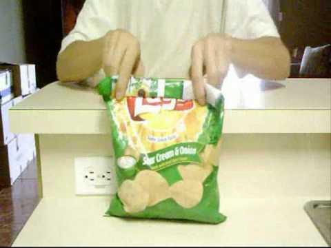 كيف تقفل كيس البطاطس بعد فتحه ؟؟ طريقة مبتكرة جميلة