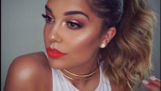 Glowy Bronze Summer Makeup Tutorial | Easy Everyday Makeup