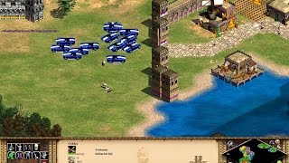 Age of Empires 2 HD Gameplay W/ Best CHEATS