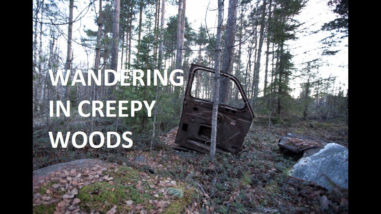 Wandering in Creepy Woods