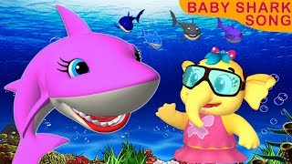 Baby Shark Dance | Animal Songs | Baby Shark Doo Doo Doo Doo Rhymes | Songs for Children|Emmie Songs