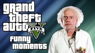 GTA 5 Online Funny Moments (Stupid Mechanic/Tunnel Driving/4 Delirious's)