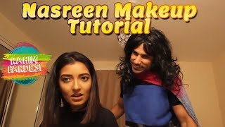 Nasreen Makeup Tutorial | Rahim Pardesi | Desi Tv Entertainment