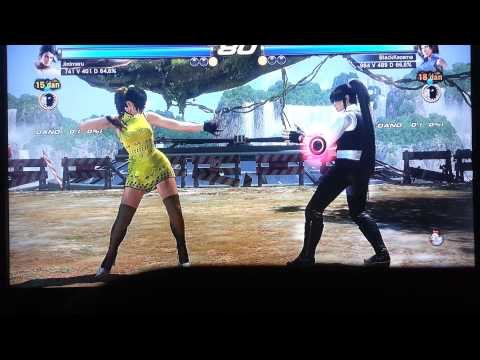 Jinimaru(ZAF/KUN) VS BlackKazama (ASU/FEN)