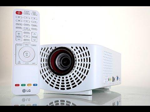 استعراض للبروجكتر LG Minibeam PF1500G:سينمائي محمول!